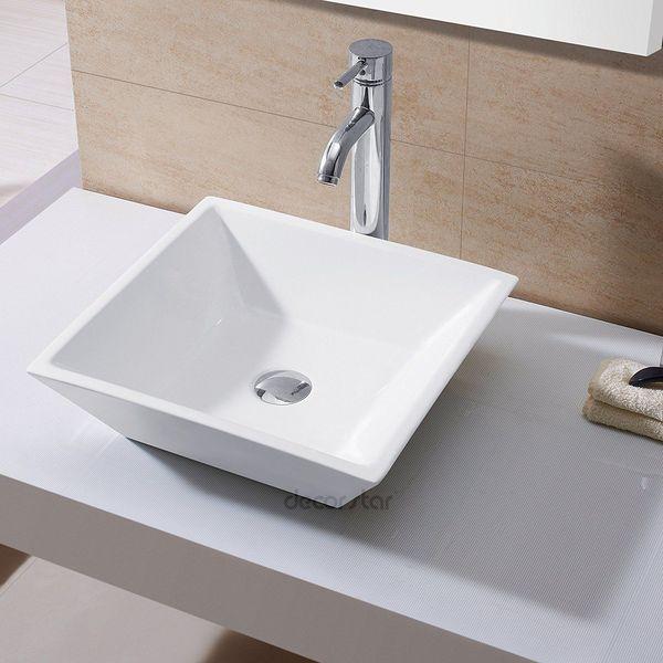 Decor Star Bathroom Porcelain Vessel Sink
