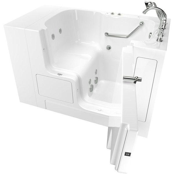 Ariel Bath Soaker Walk In Bathtub, Right Side Opening