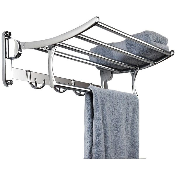 Candora Stainless Steel Wall Mounted Towel Rack