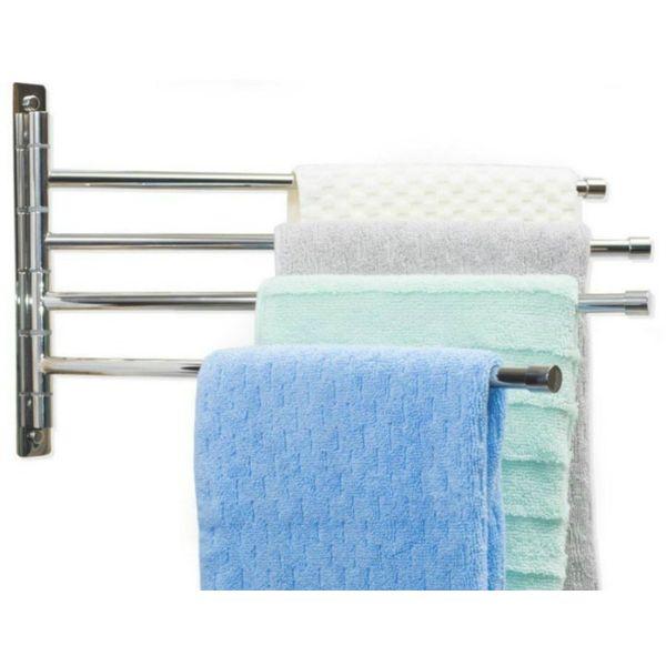 Yaze Swing Arm Wall Mounted Towel Rack