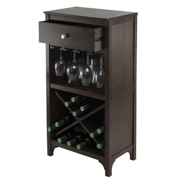 Winsome Ancona Wine Cabinet