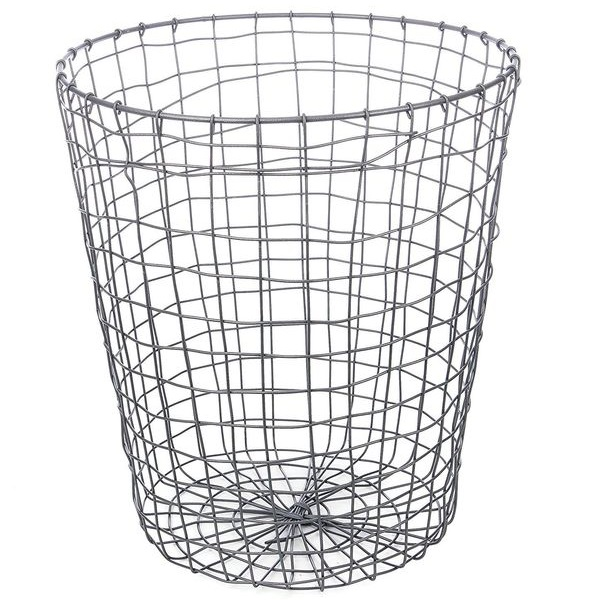 Kikkerland Folding Wire Trash Can