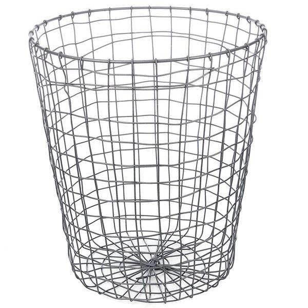 Kikkerland Folding Wire Trash Can