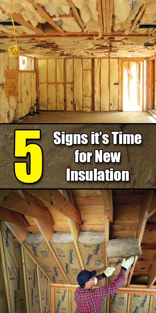 5 Signs it's Time for New Insulation - Easy Home Concepts