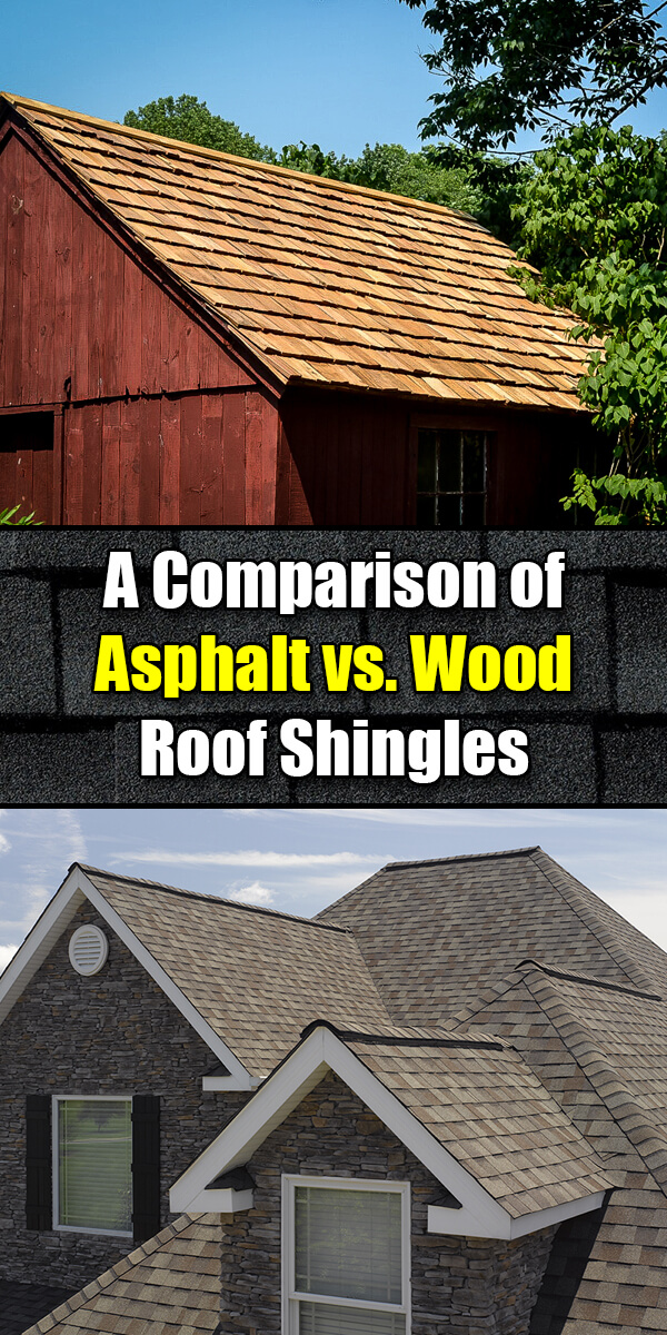 A Comparison of Asphalt vs. Wooden Roof Shingles - Easy Home Concepts