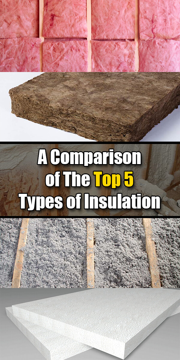 A Comparison of the 5 Most Popular Types of Insulation - Easy Home Concepts