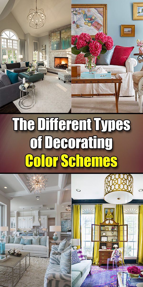 The Different Types of Decorating Color Schemes - Easy Home ...