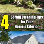 4 Spring Cleaning Tips for Your Home's Exterior - Easy Home Concepts