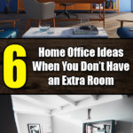 6 Home Office Ideas for When You Don't Have an Extra Room - Easy Home Concepts