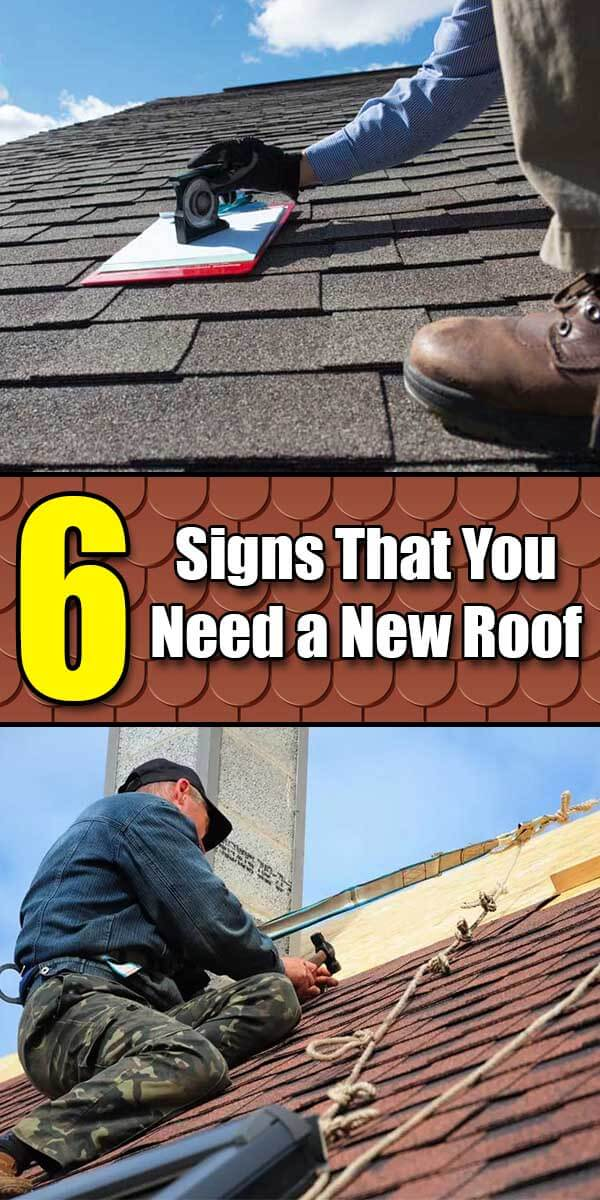 6 Signs That You Need a New Roof - Easy Home Concepts