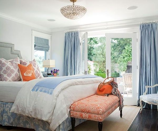 45 Blue And Orange Bedroom Ideas Easy Home Concepts